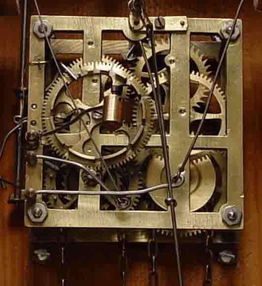 Cucoclock restauraci n de un reloj de cuco antiguo - Comprar mecanismo reloj pared ...