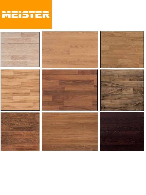 Parquets y tarimas suelos laminados meister parquets - Colores de suelos laminados ...