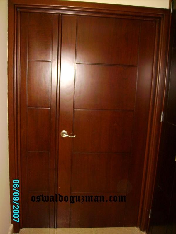 Puertas de madera para recamaras hogar y electrodom sticos for Puertas de recamara de madera
