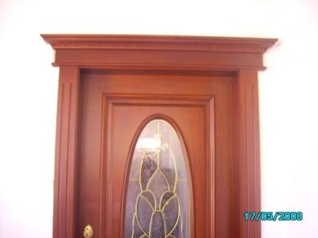 Pin puertas madera fina distintos tipos genuardis portal - Tipos de puertas de madera ...