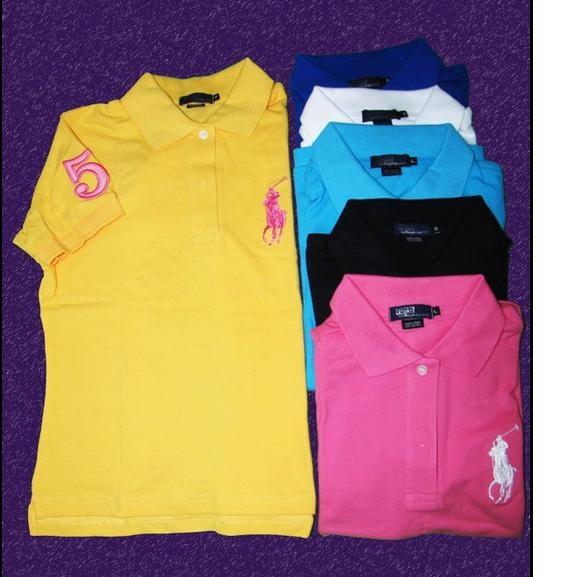 90b147e519f03 Camisetas,polos de marcas ralph lauren,lacoste,tommy » camiseta ralph  lauren mujer ref ic018 32€
