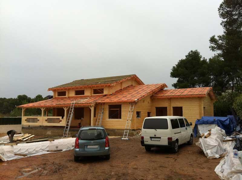 Casas de madera construccion2 construccion de casas de madera en - Casas de madera pontevedra ...