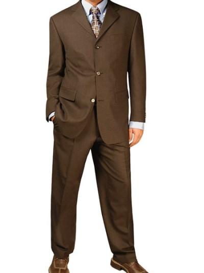 Trajes de chaqueta » traje de chaqueta marron