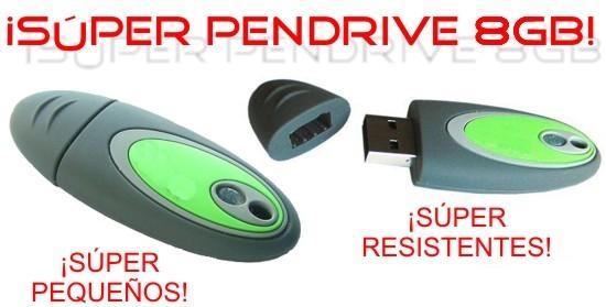 Memoria Usb 8GB [USB]