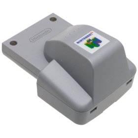 Consolas » consola - accesorio nintendo 64 - rumble pack