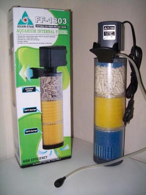 Ricardo acesorios acuario peru filtros internos para for Filtro para pecera