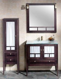 Accesorios ideales mueble de ba o r stico conjunto mueble - Muebles de bano rustico ...