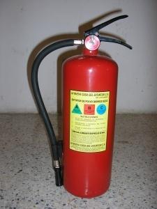 La nueva casa del extintor c a extintores extintor de polvo quimico seco de 10 libras - Extintor para casa ...