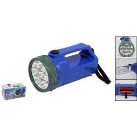 Novedades kayca iluminacion linterna de mano 7 leds for Linterna de led potente