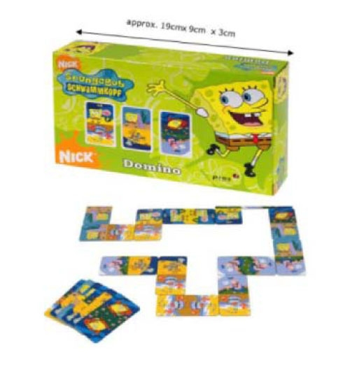 Divertilandia puzzles y juegos de mesa domino bob esponja for Divertilandia juego de mesa