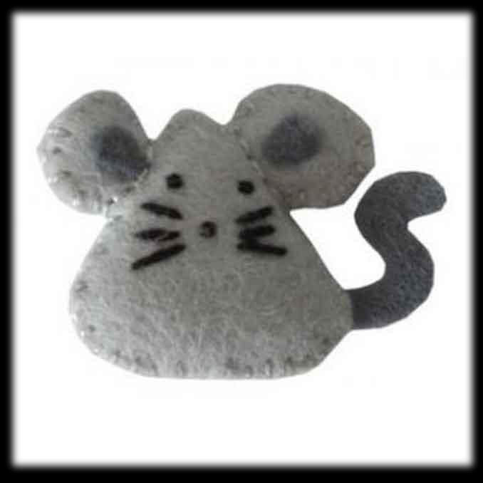 Raton en foami - Imagui